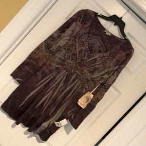 NWT Oneworld tunic length top